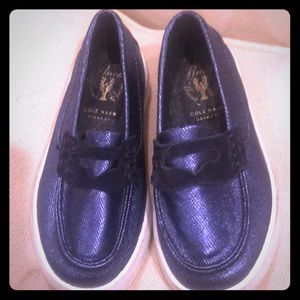 Cole Haan sparkly penny loafer